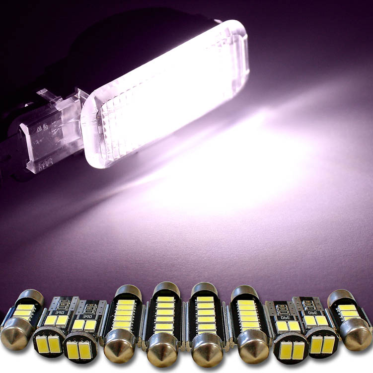 1x 5630 led wei f r innenraum auto w5w t10 31 36 42mm soffitte ba9s t4w canbus ebay. Black Bedroom Furniture Sets. Home Design Ideas
